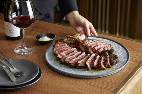 Mode Kitchen & Bar - Coorong Angus beef t-bone steak